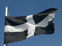 Cornish flag, St Pirans flag