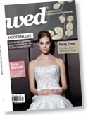 Order your copy of Wed Magazine