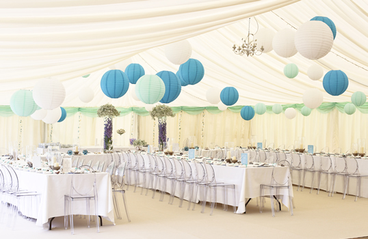 Inspire Hire, Wedding Venue Styling - Weddings Cornwall