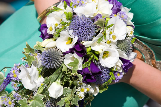wedding flowers in cornwall