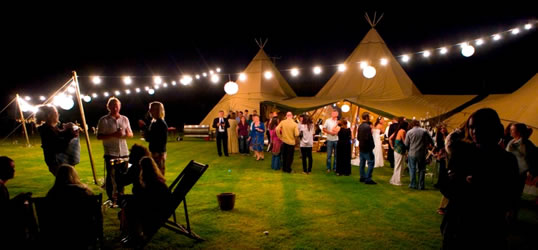 Nordic Tipis for Weddings in Cornwall & Hire a Beautiful Nordic Tipi for Your Wedding - Weddings Cornwall